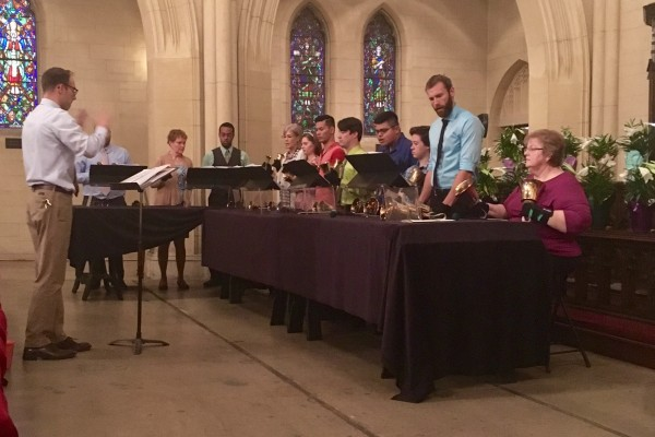 Easter Sunday Morning March 27th, 2016 at the Hollywood Campus-Handbell Choir