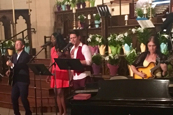 Easter Sunday Morning March 27th, 2016 at the Hollywood Campus-Worship Band