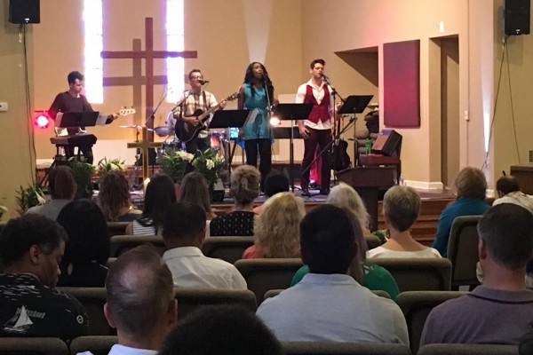 Easter Eve - North Campus March 26th, 2016 - Band