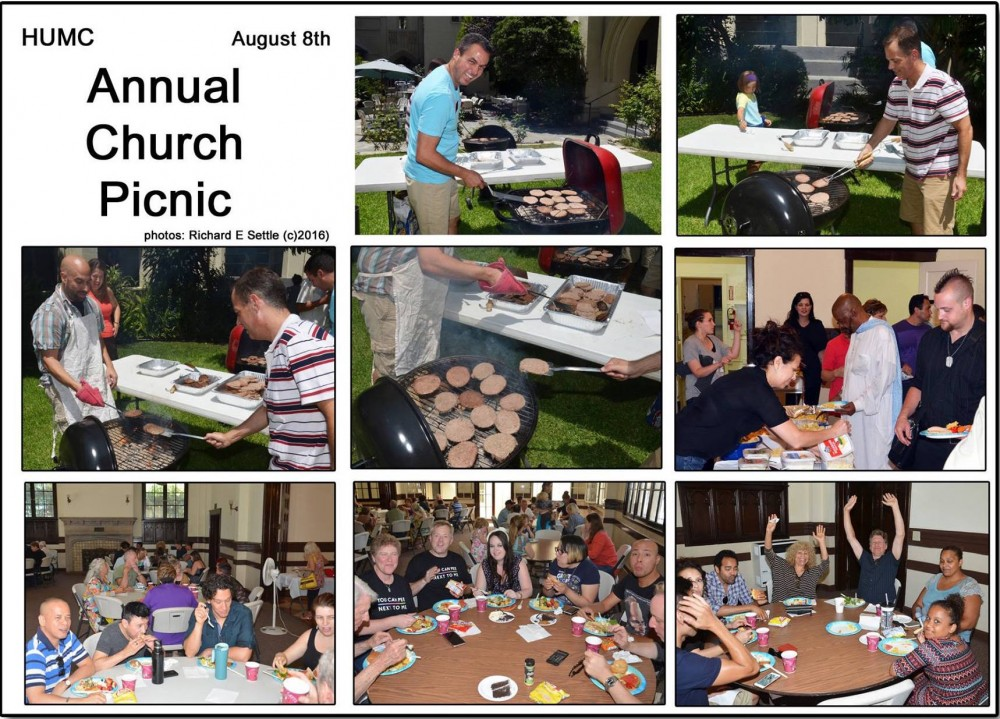 Settle Picnic Collage