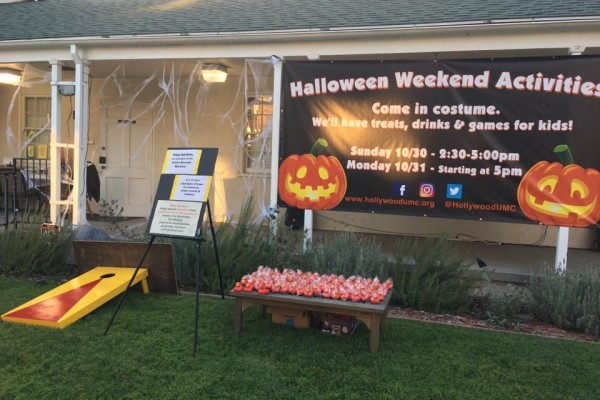 Harvest Festival Halloween night fun in Toluca Lake