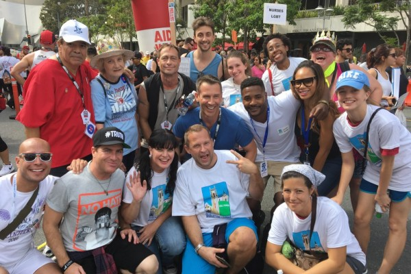 AIDS Walk LA - 10/23/2016 HUMC Team