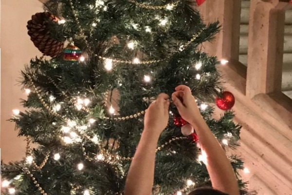 Decorating for Christmas 2016 - Hollywood Campus