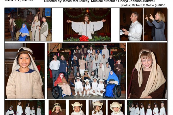 "Children's Christmas Pageant ""The Shepherd's Surprise"" 12/11/2016"