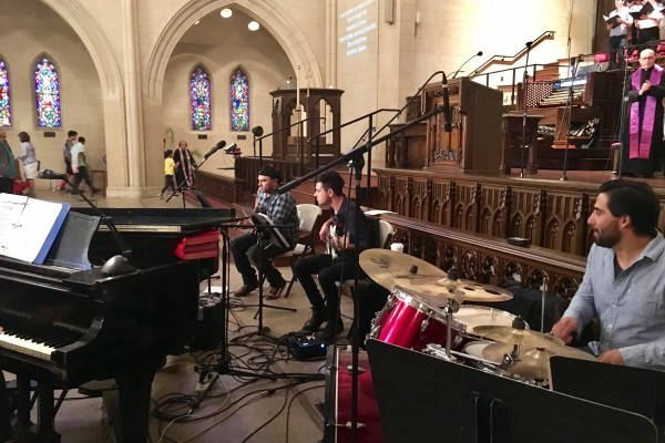 Palm Sunday April 9th, 2017 - Our worship band
