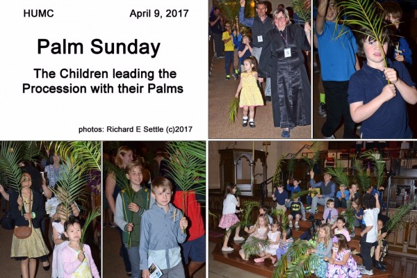 Palm Sunday April 9th, 2017