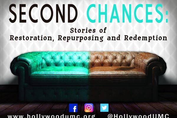 Second Chances Hwood San Banner (132x96)