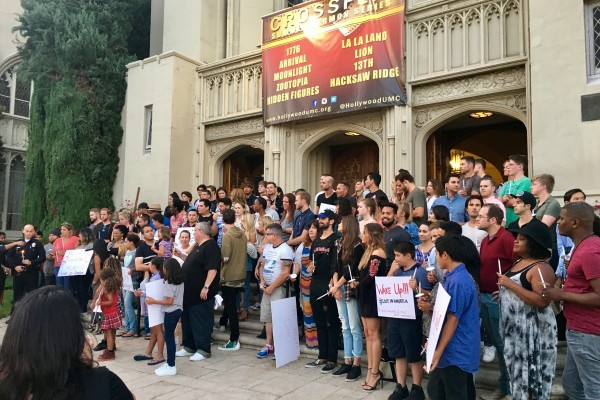 Homeless Youth Vigil by the producers of the Film: Lost in America – 7/17/17