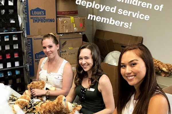 Harmony Toluca Lake volunteering at Operation Gratitude - July 15, 2017