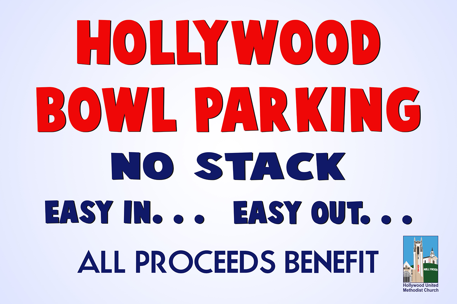 Bowl Parking Fence Banner 18 (108x72)