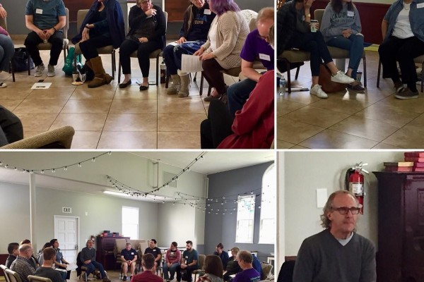 "we had a great day long workshop led by Dr. Frank Rogers on the ""Way of Radical Compassion"""