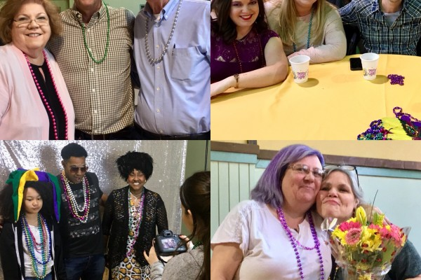 Mardi Gras Divine Diner by our Youth Department on February 11, 2018
