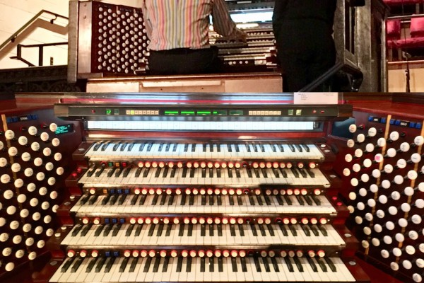 Palm Sunday Organ Concert - Refurbishment & Upgrade Celebration