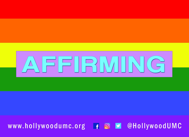 RainbowAffirming Hwood San Banner (132x96)
