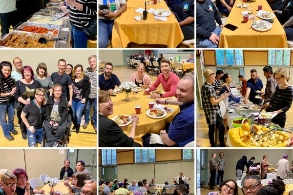HUMC Family Thanksgiving Dinner - November 18, 2018