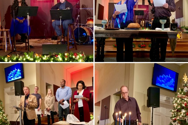 Blue Christmas Service at Harmony Toluca Lake - December 20, 2018