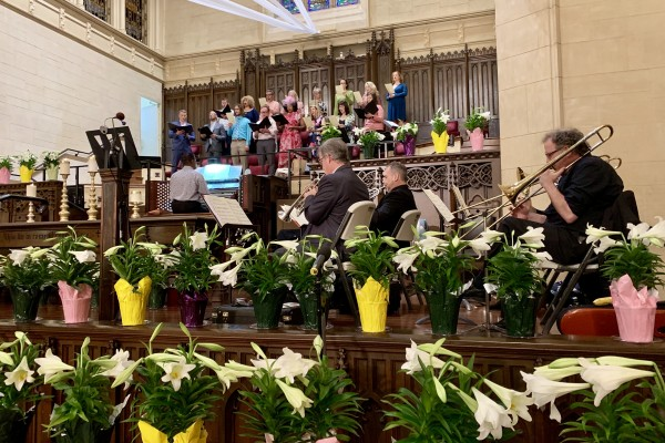 Easter 2019 at Hollywood UMC - April 21