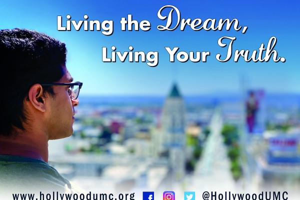 Living Dream-Truth Hwood San Banner (132x96)