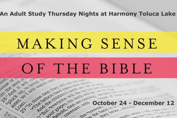 MakingSenseOfTheBible