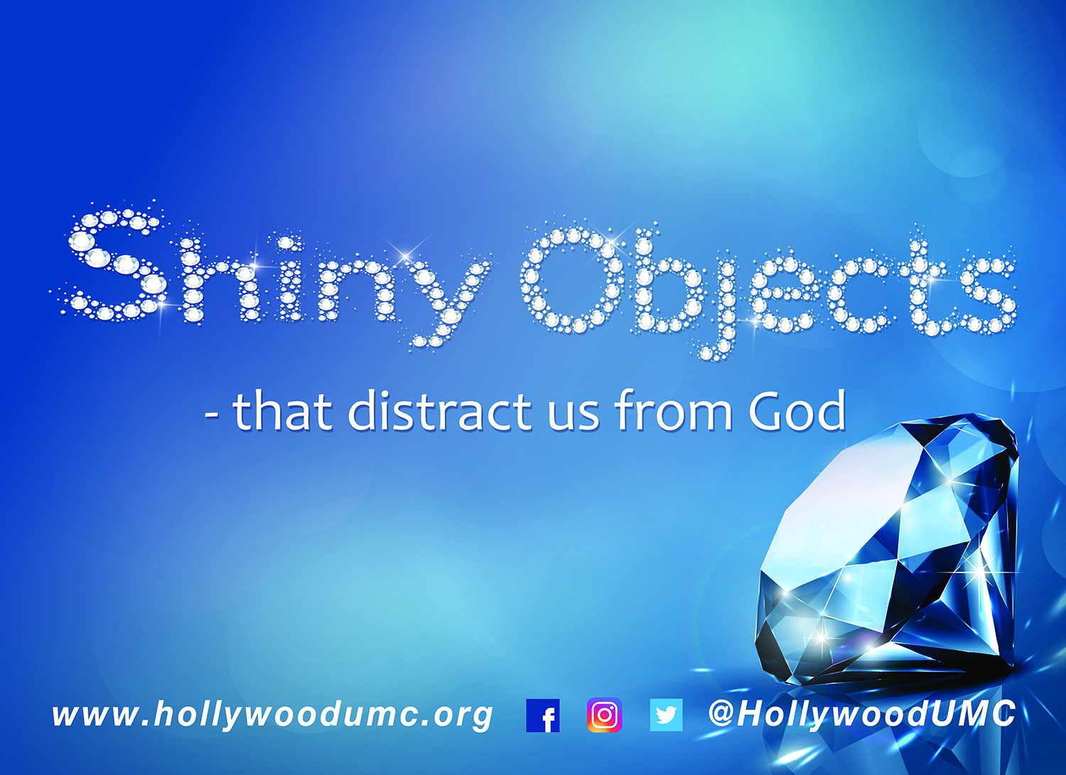 Shiny Objects Hwood San Banner (132x96)