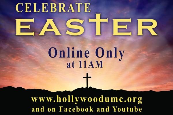 Easter Morning Hwood San Banner (132x96)