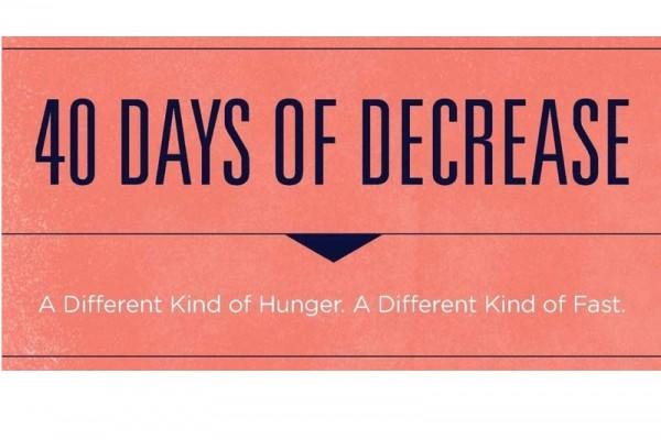 40 days of descrease